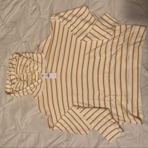 Yellow stripped long sleeve
